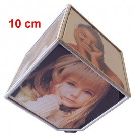 Portafoto Cubo Girevole Piccolo 10x10