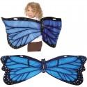 Ali indossabili farfalla blu