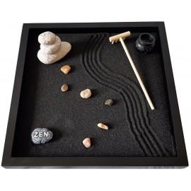Giardino Zen Stone 25x25x1 cm BLACK