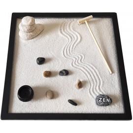 Giardino Zen Stone 25x25x1 cm WHITE