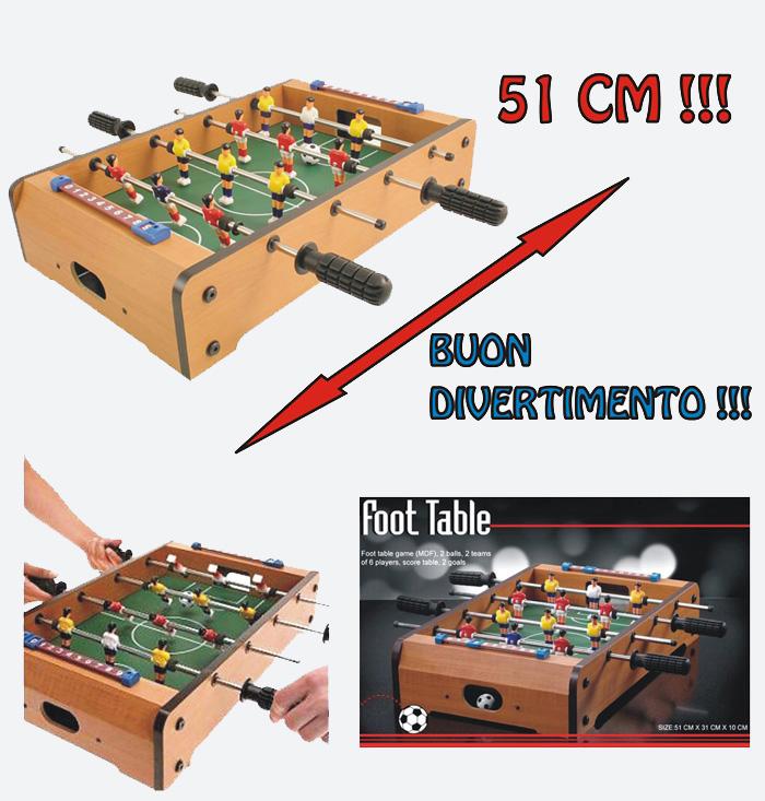 Calcetto da tavolo calcio balilla mini biliardino ebay - Calcio balilla da tavolo ...